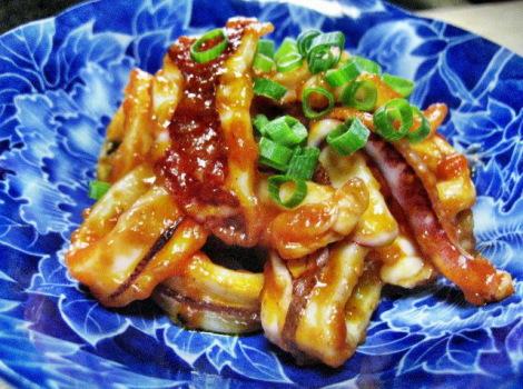 剣先イカのおいしいレシピ・剣先イカのイカチリ